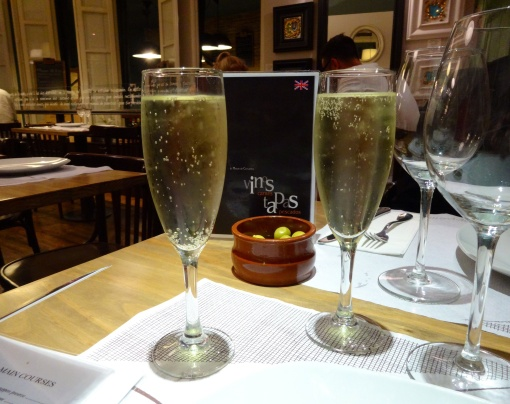 Cava at Meson de Cervantes - reijosfood.com