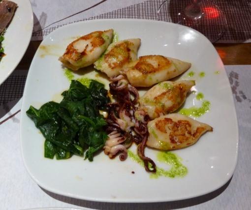 Squids at Meson de Cervantes - reijosfood.com