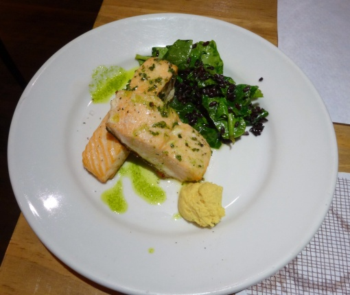 Salmon at Meson de Cervantes - reijosfood.com