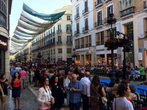 Calle Larios in Malaga - reijosfood.com