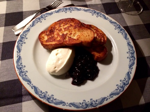 French toast at Strindberg - reijosfood.con