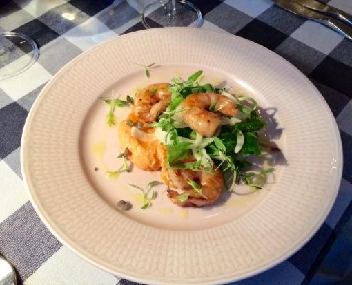 King prawns at Strindberg - reijosfood.com