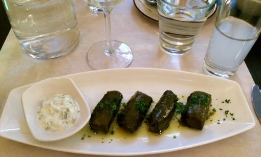 Dolmades at El Greco - reijosfood.com
