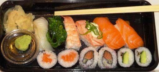 Hanko Sushi selection - reijosfood.com