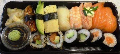 Large Assortment at Hanko Sushi