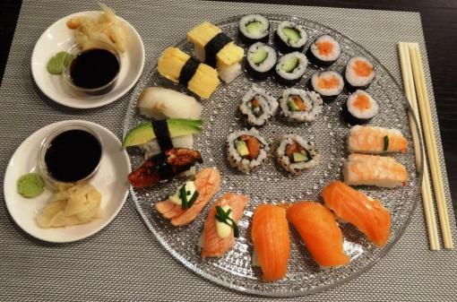 Sushi from Hanko Sushi - reijosfood.com