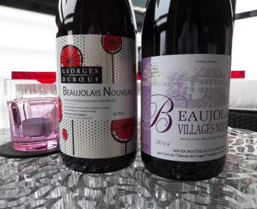 Beaujolais Nouveau wines in Finland