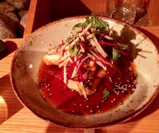 Salmon at Yume - reijosfood.com
