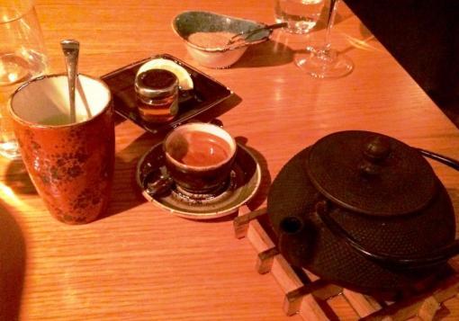 Tea pot at Yume - reijosfood.com