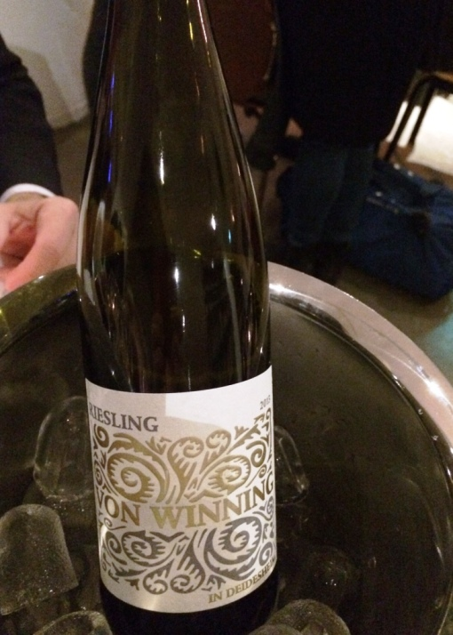 Von Winning riesling at Pastor - reijosfood.com