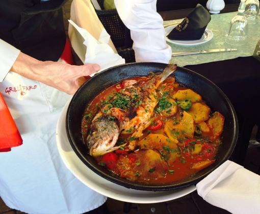Grill Faro Canarian Fish