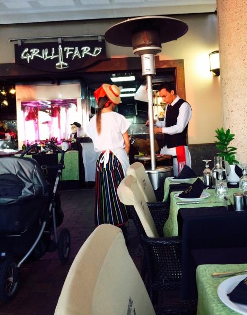 Grill Faro in Costa Meloneras