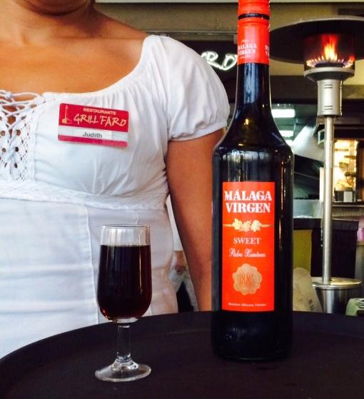 Grill Faro Malaga Sweet wine