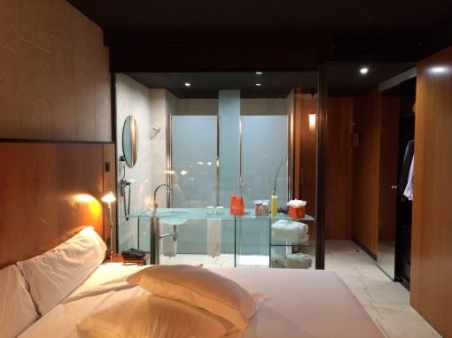Hotel Barcelona Princess room - reijosfood