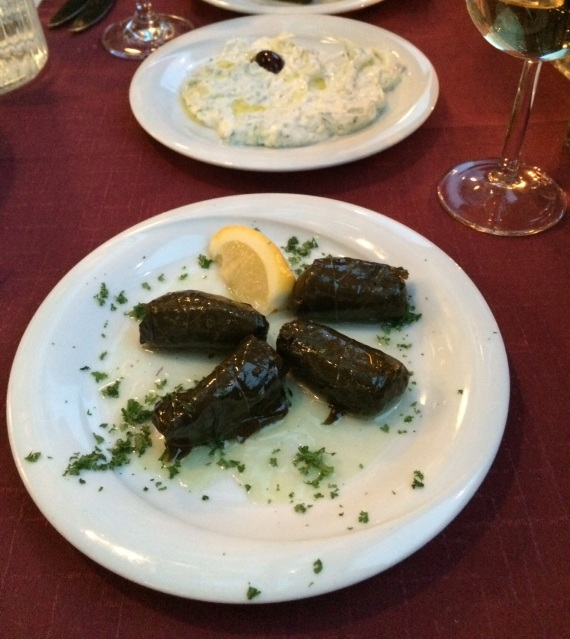Dolmades at Minos - reijosfood.com