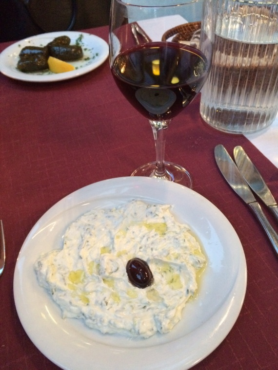 Tzatziki at Minos - reijosfood.com