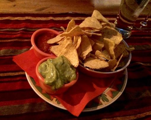 Nachos at Santa Fe