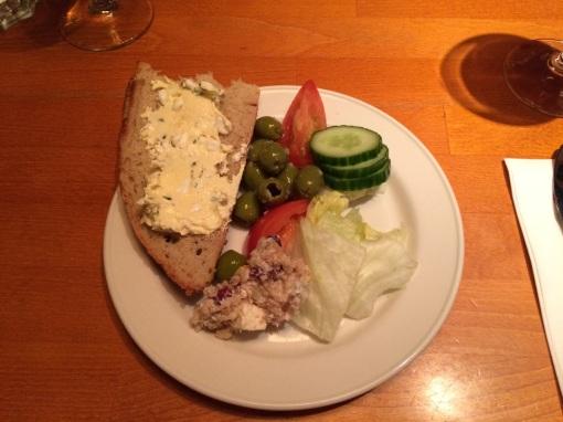 Salad from Buffet at Blue Peter - reijosfood.com
