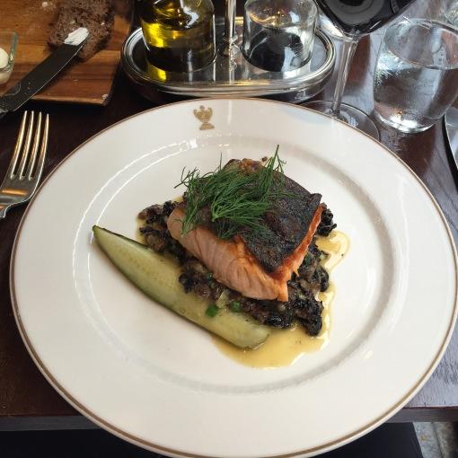 Salmon at Kämp